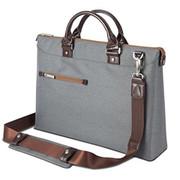 "Moshi Urbana Briefcase 13""- 15"" laptops + iPad - Mineral Grey"