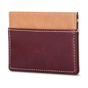 Moshi Slim Wallet - Burgundy Red