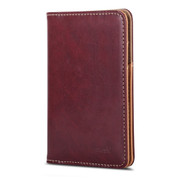 Moshi Passport Holder - Burgundy Red