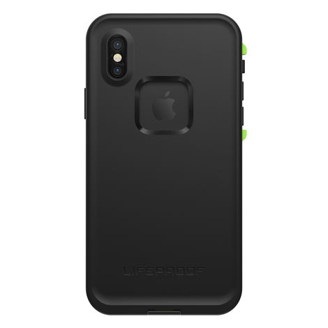 LifeProof FRE Case iPhone X - Black/Lime