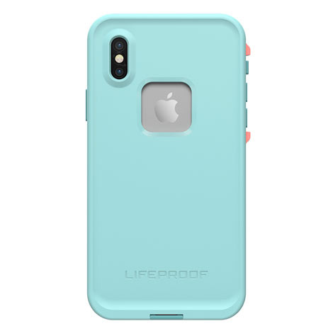 LifeProof FRE Case iPhone X - Blue/Coral/Mandalay Bay