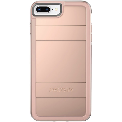 iphone case rose gold pelican protector iphone 8 7 6 6s plus metallic 7697
