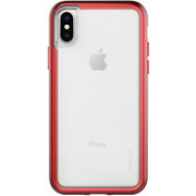 Pelican ADVENTURER Case iPhone X - Clear/Metallic Red
