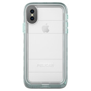 Pelican MARINE Case iPhone X - Teal/Clear