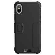 UAG Metropolis Folio Wallet Case iPhone X - Black
