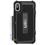 UAG Trooper Card Wallet Case iPhone X - Black