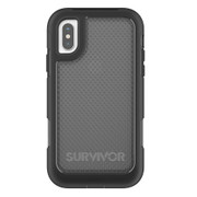 Griffin Survivor Extreme Case iPhone X - Black/Tint