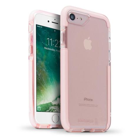 BodyGuardz Ace Pro Unequal Case iPhone 8 - Pink/White