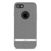 Moshi Vesta Case iPhone 8/7 - Herringbone Grey