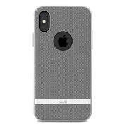 Moshi Vesta Case iPhone X/Xs - Herringbone Grey