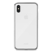 Moshi Vitros Case iPhone X - Jet Silver