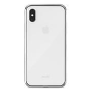 Moshi Vitros Case iPhone X/Xs - Jet Silver