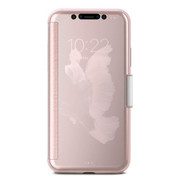 Moshi StealthCover Case iPhone X - Champagne Pink
