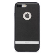 Moshi iGlaze Napa Case iPhone 8/7 Plus - Charcoal Black