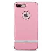 Moshi iGlaze Napa Case iPhone 8+/7+ Plus - Melrose Pink