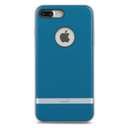 Moshi iGlaze Napa Case iPhone 8+/7+ Plus - Marina Blue