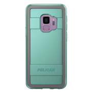 Pelican PROTECTOR Case Samsung Galaxy S9 - Aqua/Grey