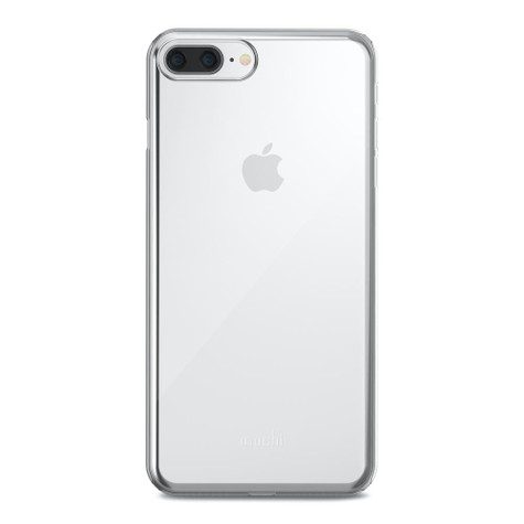 Moshi SuperSkin Case iPhone 8+/7+ Plus - Crystal Clear