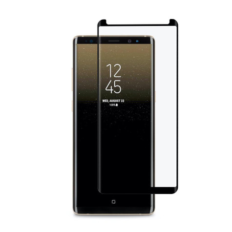 Moshi IonGlass Glass Screen Guard Samsung Galaxy Note 8 - Black