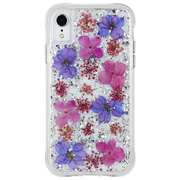 Case-Mate Karat Petals Case iPhone XR - Purple