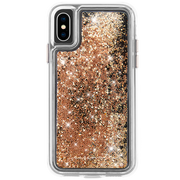 Case-Mate Waterfall Case iPhone X/Xs - Gold