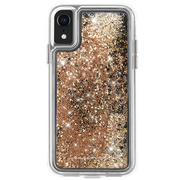 Case-Mate Waterfall Case iPhone XR - Gold