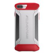 Element CFX Case iPhone 8+/7+ Plus - White/Red