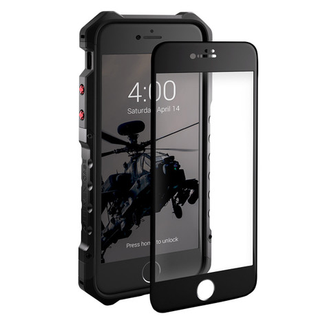 Element Tempered Glass Screen Protector iPhone 8/7 - Black Frame
