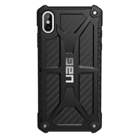 UAG Monarch Case iPhone Xs Max - Carbon Fibre