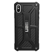 UAG Monarch Case iPhone Xs Max - Carbon Fibre