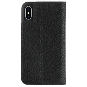 Case-Mate Barely There Folio Case iPhone X/Xs - Black