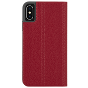 Case-Mate Barely There Folio Case iPhone X/Xs - Cardinal