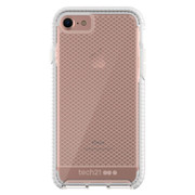Tech21 Evo Check Case iPhone 8/7 - Clear/White