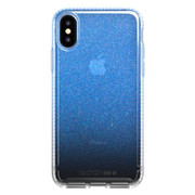 Tech21 Pure Shimmer Case iPhone X/Xs - Blue