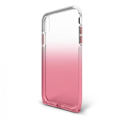 BodyGuardz Harmony Unequal Case iPhone XR - Clear/Rose
