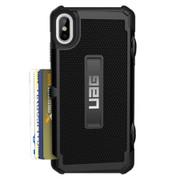 UAG Trooper Card Wallet Case iPhone Xs Max - Black