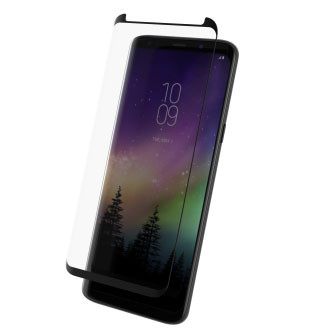 Zagg InvisibleShield Tempered Glass Curve Samsung Galaxy S9+ Plus