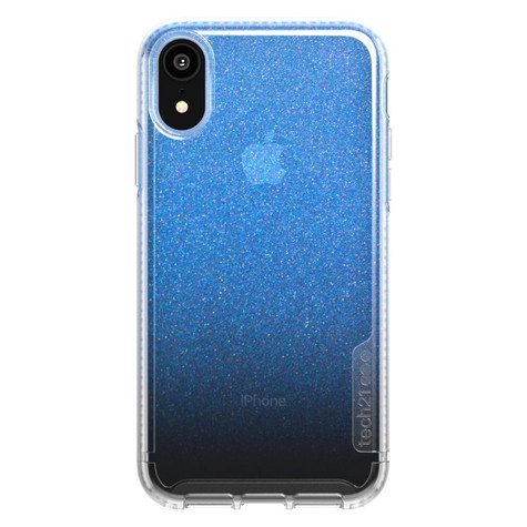 Tech21 Pure Shimmer Case iPhone XR - Blue