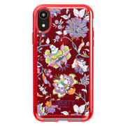 Tech21 Pure Print Liberty Christelle Case iPhone XR - Red