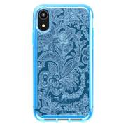 Tech21 Pure Design Liberty Grosvenor Case iPhone XR - Blue