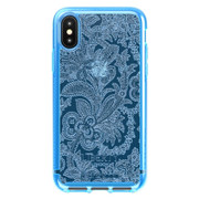 Tech21 Pure Design Liberty Grosvenor Case iPhone Xs Max - Blue