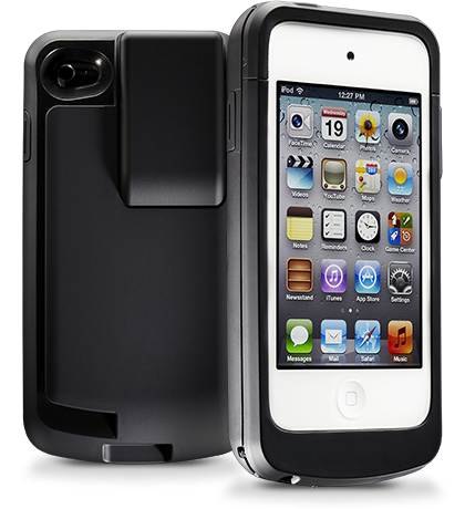 The forerunner. Still in play. Still at work. For iPhone 4 and iPod touch 4.