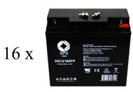 Parasystems Minuteman CP 10K 2 UPS Battery set