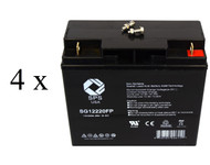 Parasystems Minuteman BPX48V17 UPS Battery set