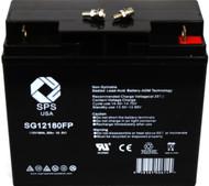 Single battery used in  APC Matrix 3000 UPS