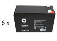 SG Series Plus Tower Ext., SG2K 2T HW battery set
