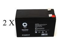 Compaq T700  12 Volt, 7AH  battery set