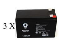 UB1280 with Exide½ Powerware PW5119 1500   battery set