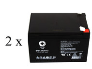 MK battery ES12-12TE  scooter battery set