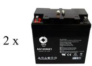 EaglePicher CareFree CFR12-55 Gp 22NF  battery set